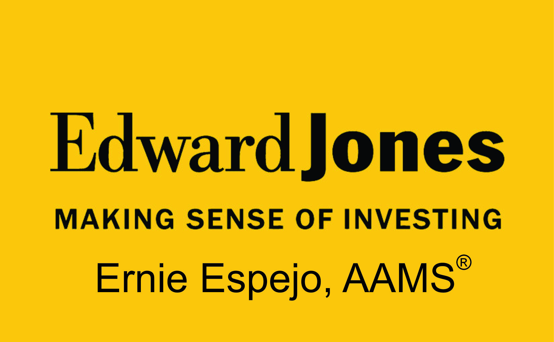 ernie espejo edward jones